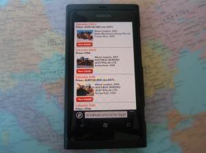 Brug din mobil til at søge brugt materiel til salg