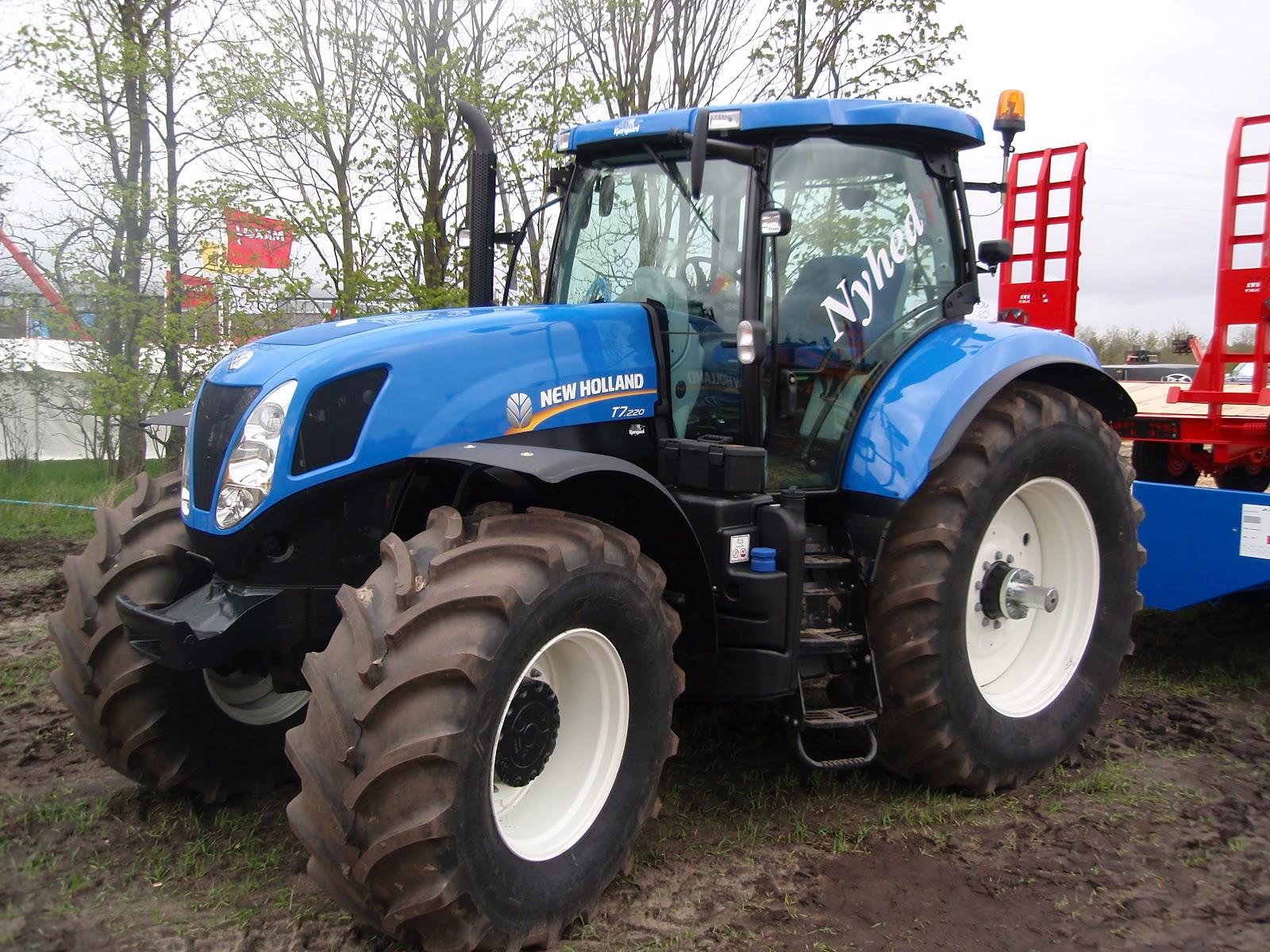 new holland traktor til salg